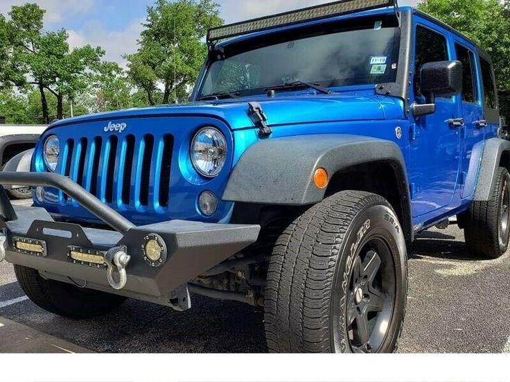 2015 Jeep Wrangler Unlimited Sport Blue 3.7L V6 2015