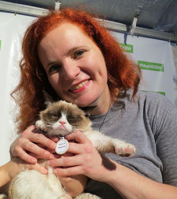 Hanging Out With Memes at SXSW 2013: Grumpy Cat, Scumbag Steve & Nyan Cat Creator Chris Torres