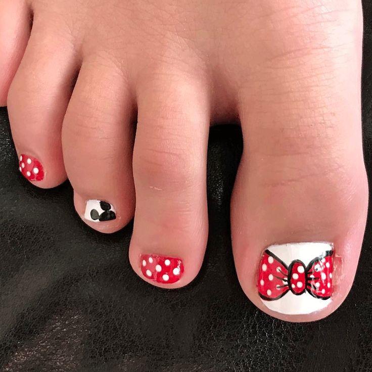 16 Toenail Art Designs That Toe-Tally Nail It - 25 Best Disney Images On - Disney Toe Nail Designs Graham Reid
