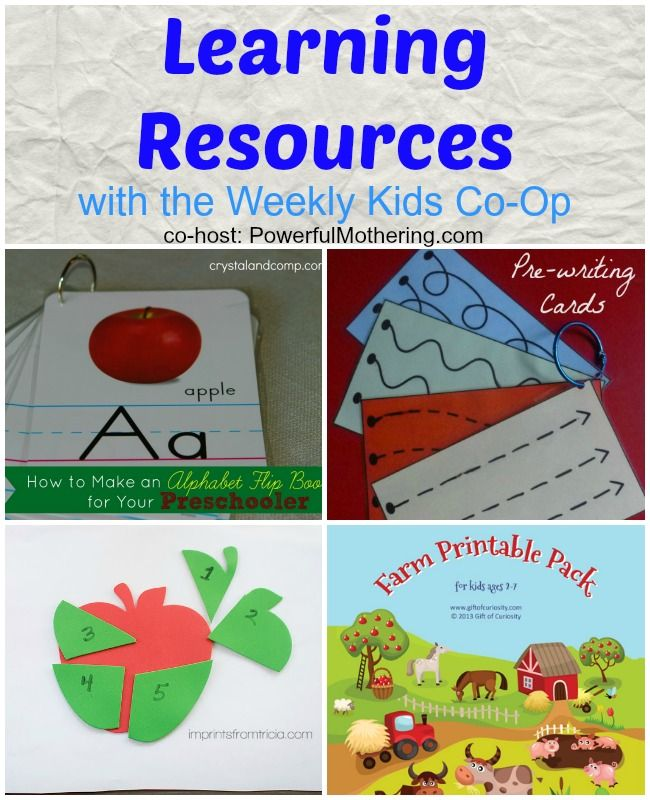 Learning Resources with the Kids Co Op