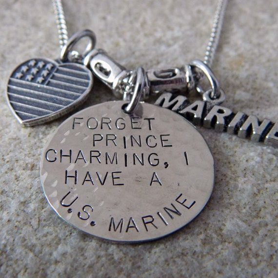 Forget Prince Charming I have a US Marine by WireNWhimsy on Etsy, $36.00