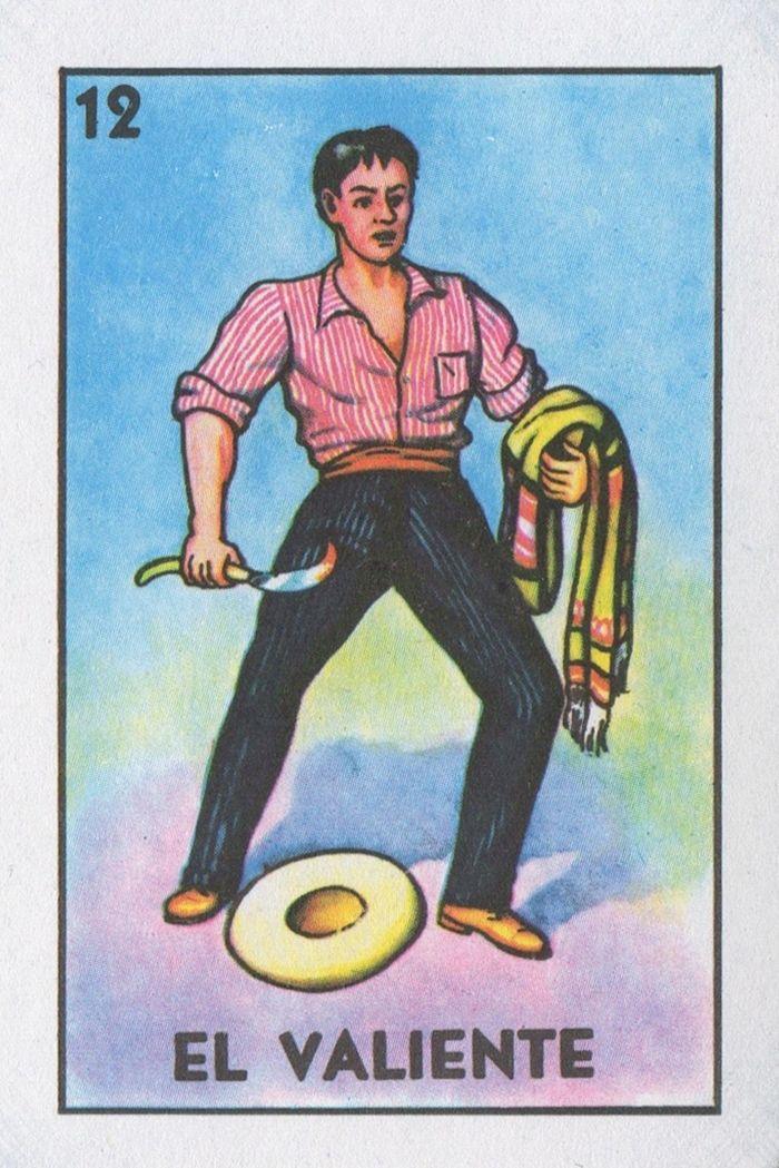 Loteria... El Valiente | Lone Quixote #loteria #art #mexicanbingo