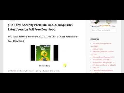 360 Total Security Premium 10 0 0 1069 Crack