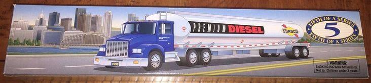 Sunoco Talking Tanker Truck 5th of A Series Premium Diesel #Sunoco
