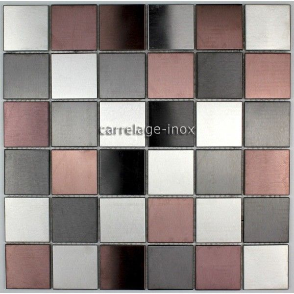 Mosaique carrelage inox credence faience primea id es for Carrelage pour mosaique