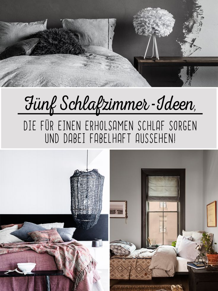 30 best Ideen für das Schlafzimmer images on Pinterest Ideas - wandfarbe im schlafzimmer erholsam schlafen