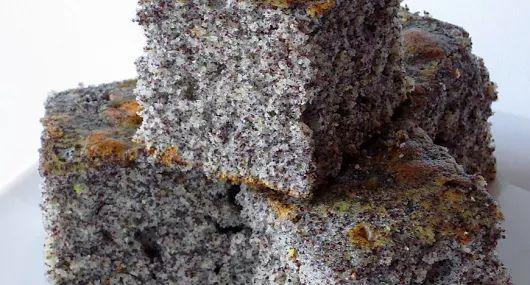 Bögrés mákos sütemény recept    - receptek képekkel