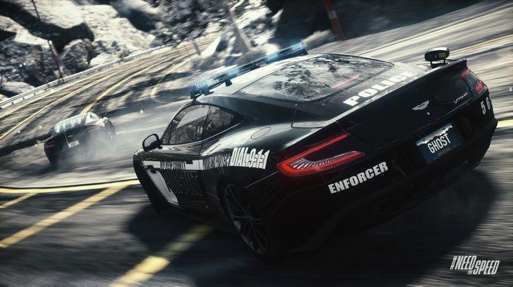 NFS Rivals: Aston Martin Vanquish as a Enforcer Cop