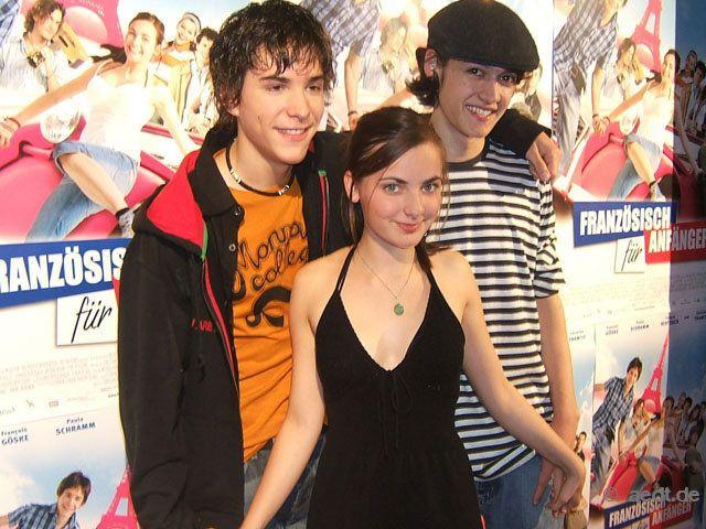 François Goeske, Paula Schramm and Lennard Bertzbach, French for Beginners