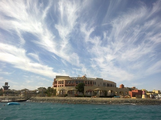Three Corners Ocean View Hotel in El Gouna