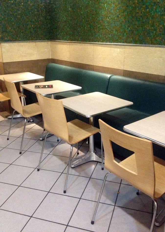 our Galaxia tables by indecasa at the Goody's restaurant in hilton area, Athens