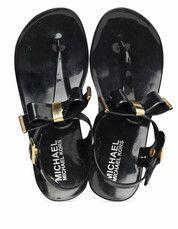 Zwarte Michael Kors kinderschoenen Jelly Lane sandalen
