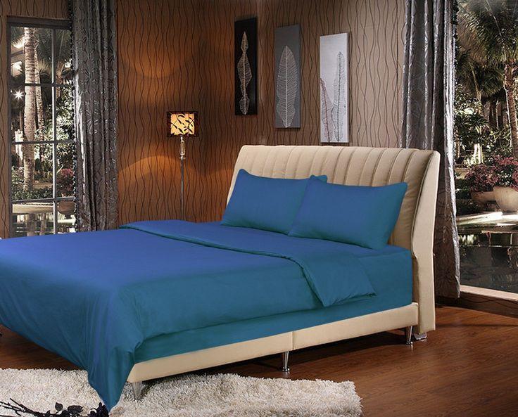 Tache 2-3 Piece Ocean Blue Duvet Cover Set