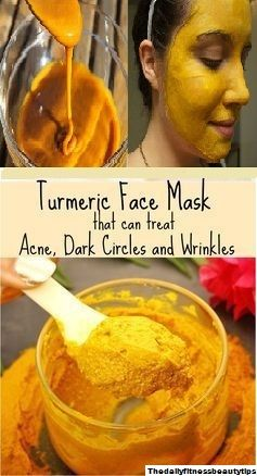 How To Use Turmeric Powder To Get Rid Of Acne, Dark ...