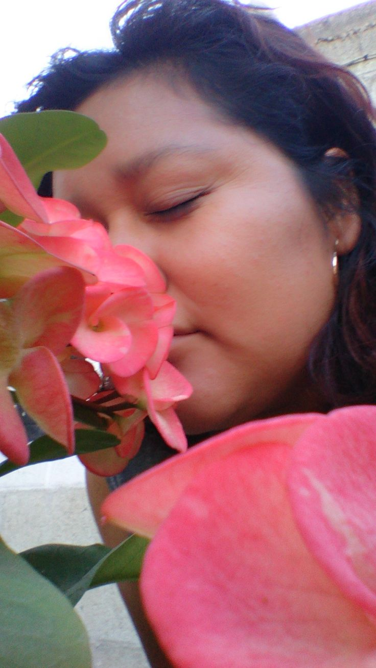 selfie jardin