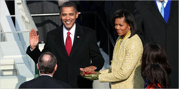 Obama Is Sworn In as the 44th President - NYTimes.com