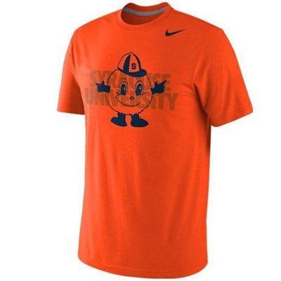 Nike Syracuse Orange Symbol Tri-Blend T-Shirt - Orange