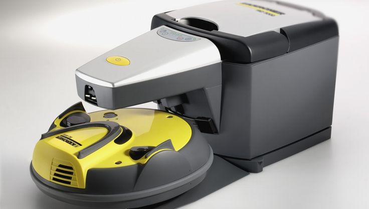 The first robotic vacuum cleaner to self-recharge and self-empty. Surprisingly this was designed over 12 years ago!