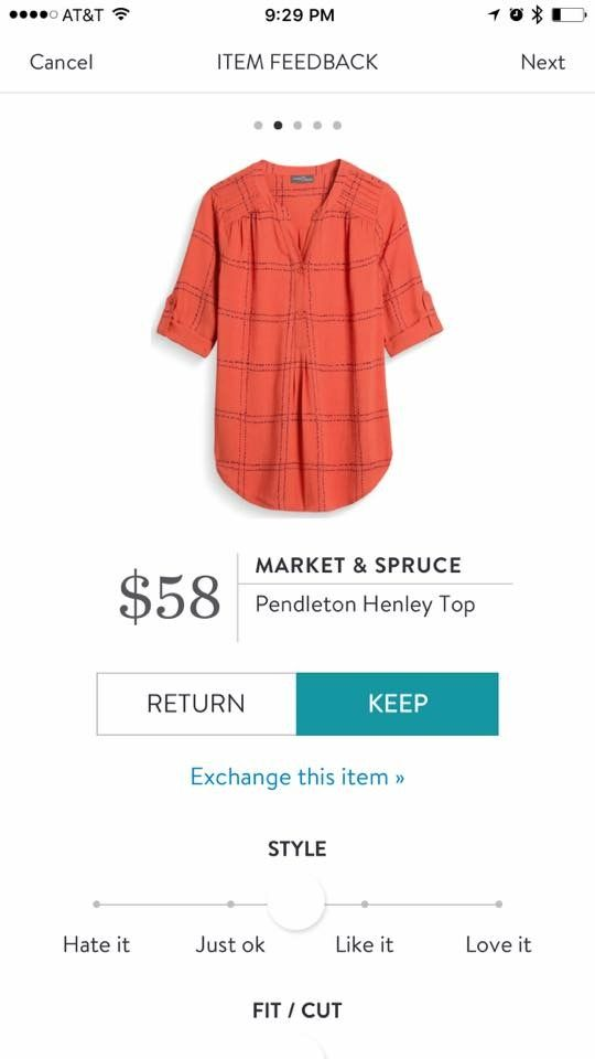 Market and Spruce Pendleton - Friday/casual weekend wear. Another nemesis - haven't found a plaid that I like yet.