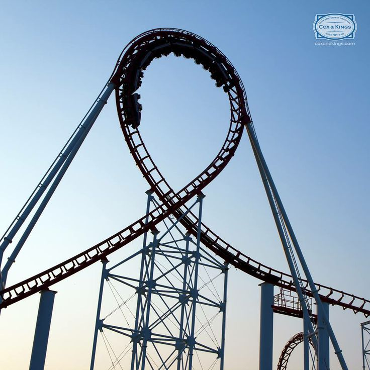 A drop of 400 ft at 85 miles per hour!  That's the Lex Luthor ride at Six Flags, #NewJersey. Sounds fun? It's terrifying! Prepare to drop off the face of the earth, quite literally. Six Flags has enough breathtaking rides to make your jaw drop!