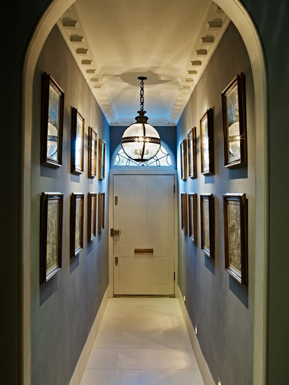 London Town House - Entrance hall - coloured by NAISMITH ROBERTSON.