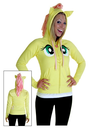 My Little Pony Fluttershy Hoodie - My Little Pony Clothing