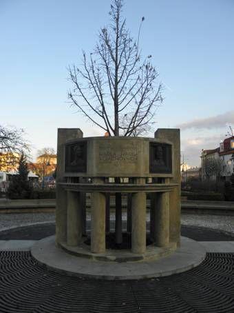 Pomník manželů Vojáčkových Prostějov
