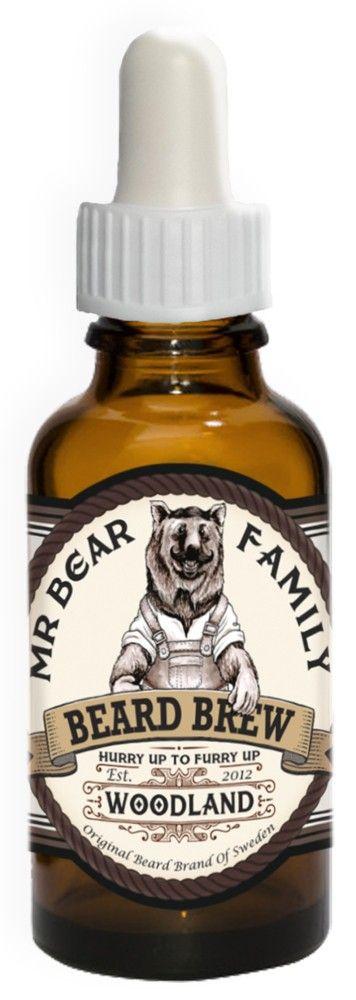 Mr Bear Beard Brew Woodland. Skäggolja från svenska Mr Bear.