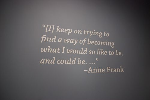 Anne Frank and Me Essay