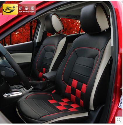 Автомобильные чехлы на сидения поддержка 3D стереоскопический роскошные покрытие места подушка четыре сезона автомобильные аксессуары для MAZDA Atenza
