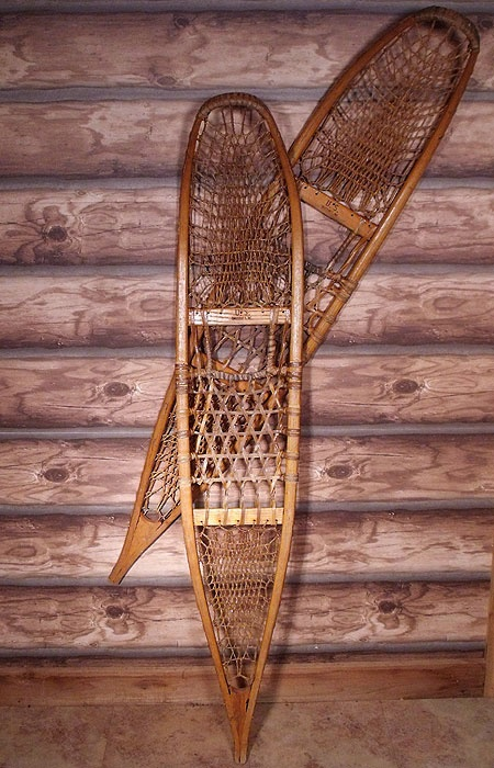 58 Best Images About Snowshoes Vintage Wooden On