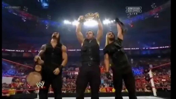 WWE The Shield Tribute (Make Me Wanna Die - Pretty Reckless)