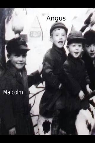 Malcolm and Angus