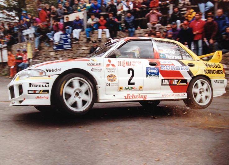 Uwe Nittel - Mitsubishi Lancer Evo III - Sanremo 1997