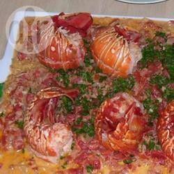 Foto recept: Kreeft met pasta
