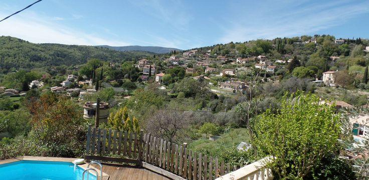 Amira,Callian Villa Rental.  Just look at those wonderful views!