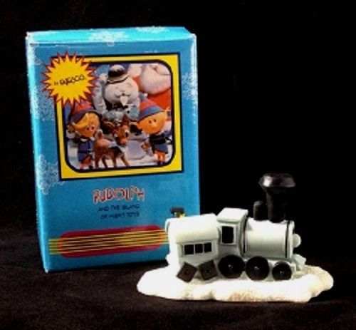 Rudolph And The Island Of Misfit Toys TRAIN Mini Figurine NEW IN BOX