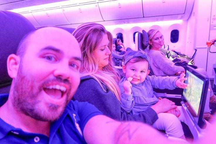 hello friends from somewhere over the atlantic ocean! #airplanewifi #virginatlantic #sacconejolys #goodbyeusa