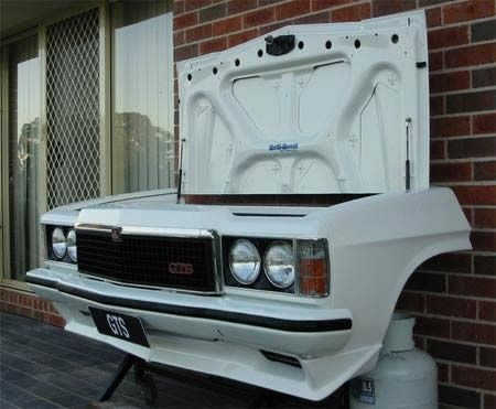 Car Grill- Grill  My fiance would love this! As long as its an old Camaro of course :]