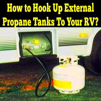 How to Hook Up External Propane Tanks to Your RV: Pictured Above: Marshall Gas Controls Extend-A-Stay Tap Kit  Hello!   As you know the LP tanks on my 1985 Pace Arrow are welded to my chassis. Is there