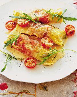 Cannelloni mit Tomaten und Basilikum-Frischkäse - Rezepte - [LIVING AT HOME]