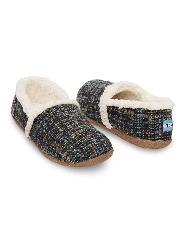 Slippers are truly one of the best gifts to give and to get. TOMS Slippers not only keep you cozy but also provide a pair of shoes to a child in need through the One for One initiative.