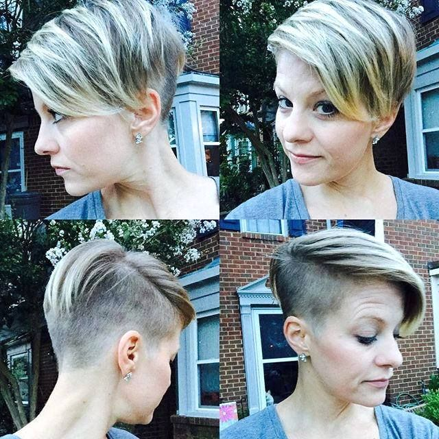 Opinions Of The Cut And Color Short Hair Beauty Pinterest Undercut Side Undercut And