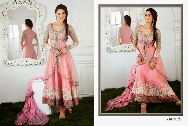 Indian Frock Designs 2014 - Indian Party Wear Collection
