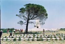 The Gallipoli Campaign, also known as the Dardanelles Campaign or the Battle of Gallipol took place at the peninsula of Gallipoli in the Ottoman Empire (in modern day Turkey) between 25 April 1915 and 9 January 1916, during the First World War.  http://www.turkeytraveladvisory.com/turkey_tours/details/turkey_travel_destinations/12/Gallipoli/