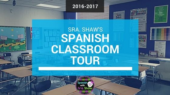 Spanish & World Language classroom decor and Spanish bulletin boards. Spanish with Sra. Shaw