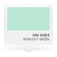 SW 6984 - Workout Green