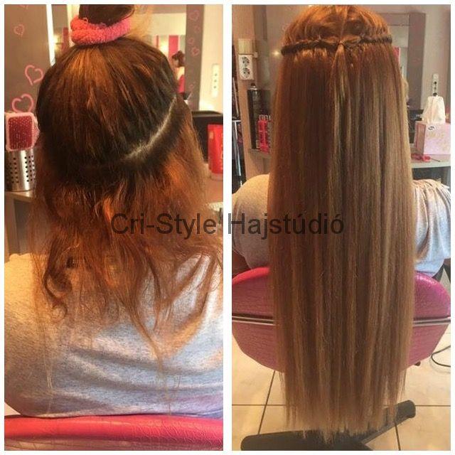 Cri-Style hajhosszabbítás, az elégedett végeredményért! http://cri-style.hu/galeria/elotte-utana/