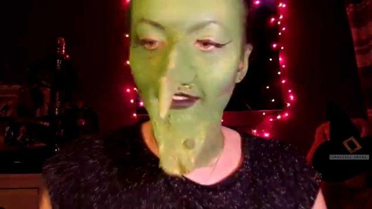 Makijaż czarownicy! Makijaż na Andrzejki Makijaż czarownicy! Makijaż na Andrzejki Hallloween makeup Witch makeup, makijaż wiedźmy, czarownicy. magic