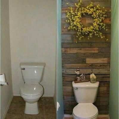 Cool idea if there is enough room behind the toilet.